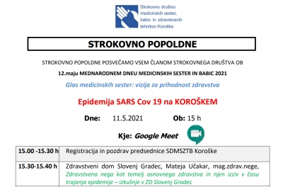 EPIDEMIJA SARS COV-19 NA KOROŠKEM